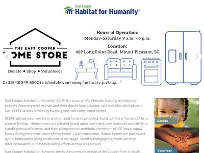 East Cooper Habitat for Humanity