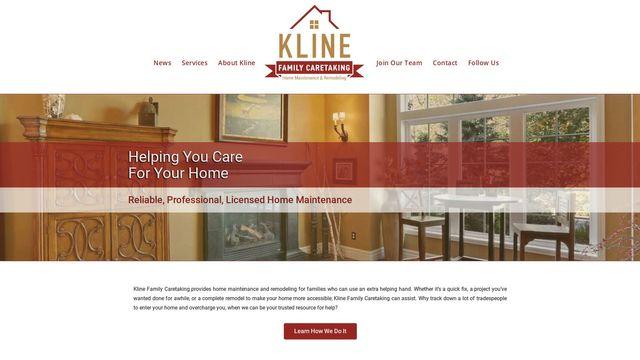 Kline Family Caretaking