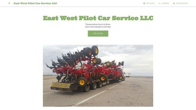 East West Pilot Car Service LLC