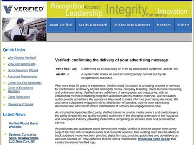 Verified Audit Circulation