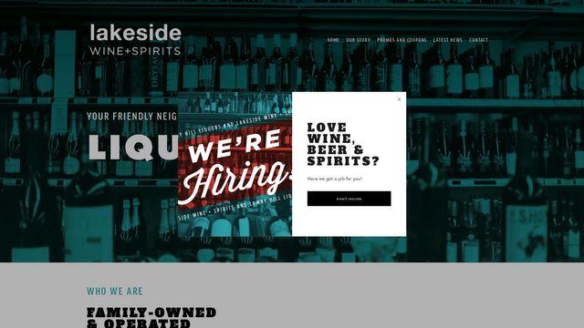 Lakeside Wine + Spirits