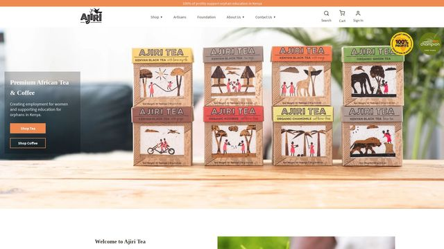 Ajiri Tea Company