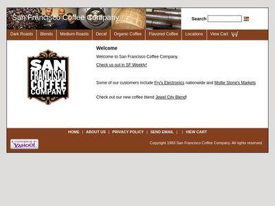 San Francisco Coffee Company.