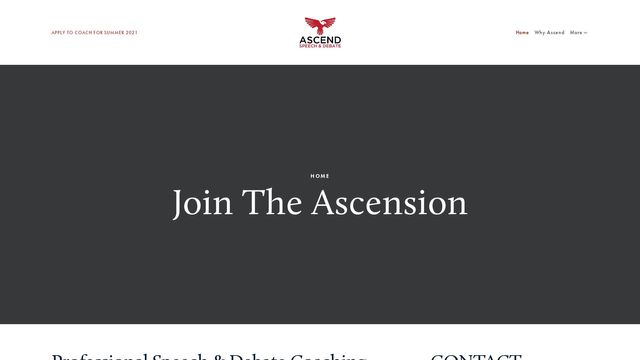 Ascend Speech and Debate