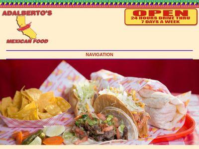Adalberto's Mexican Food