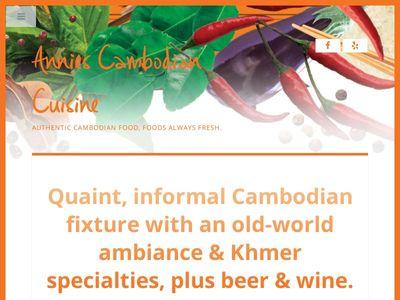 Annies Cambodian Cuisine