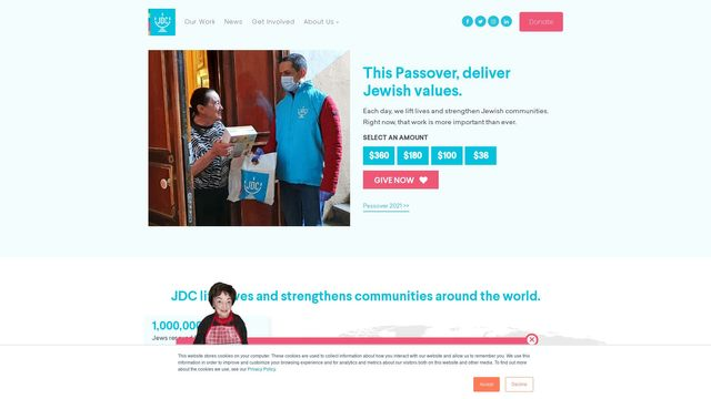 American Jewish Joint Distribution Committee, Inc
