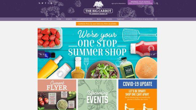 The Big Carrot Community Market