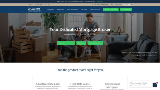 Blue Water Mortgage Corporation