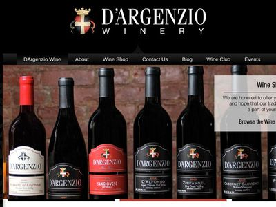 D'Argenzio Winery and Tasting Room