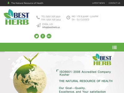 Best Herb Inc.