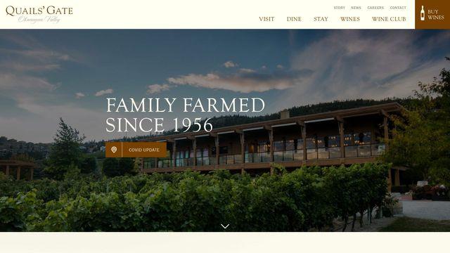 Quails' Gate Okanagan Estate Winery