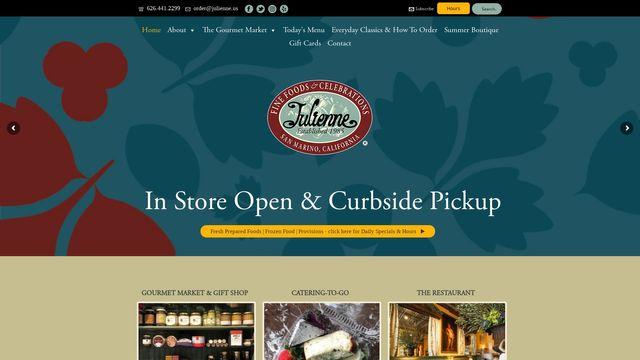 Julienne Fine Foods, Inc.