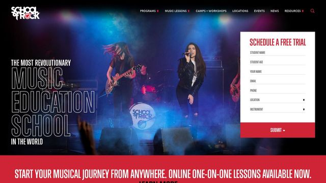 School of Rock LLC.