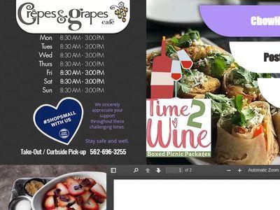 Crepes & Grapes