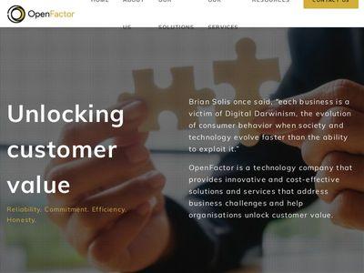 Openfactor Technologies Ltd