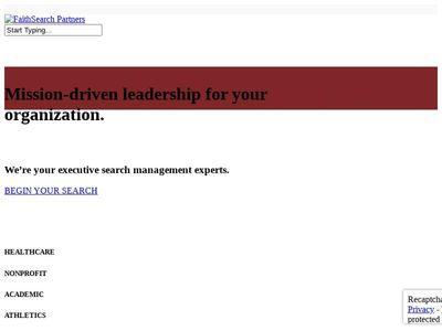 FaithSearch Partners, Inc.