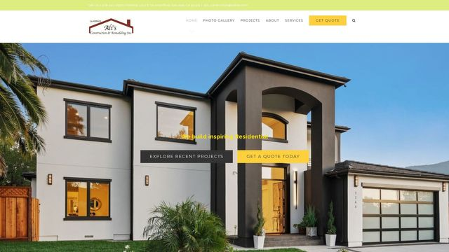 ALI's Construction and Remodeling co.