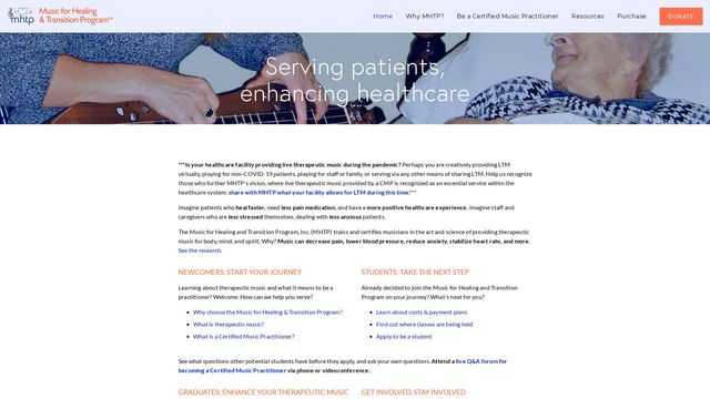 Music for Healing and Transition Program, Inc.