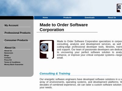 Made to Order Software Corporation