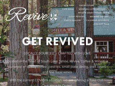 Revive Coffee & Wine