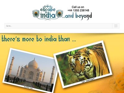 Escape to India and beyond...
