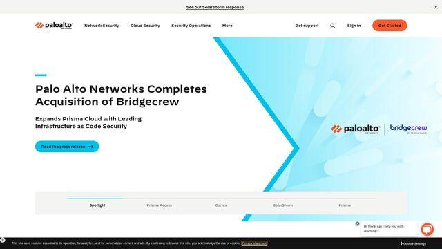 Palo Alto Networks Inc