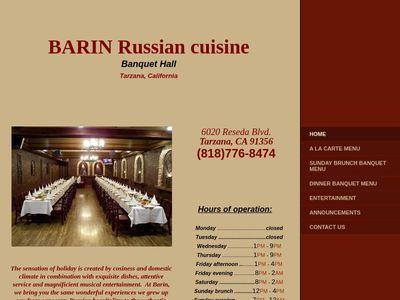 Barin Russian cuisine