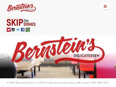 Bernsteins Deli Winnipeg