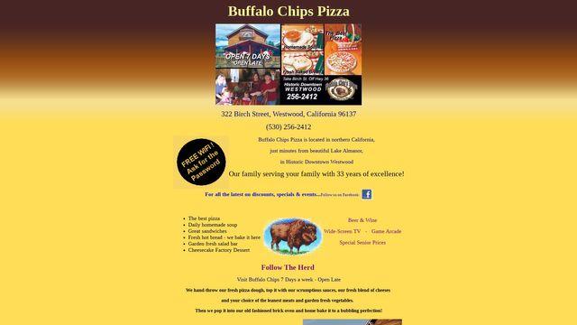 Buffalo Chips Pizza