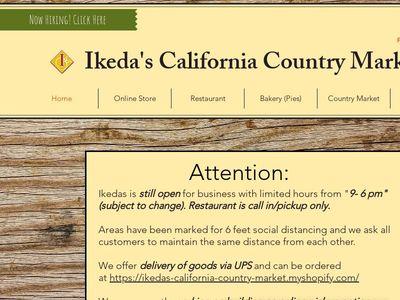 Ikedas California Country Market