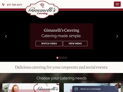 Gimanelli's Catering Company