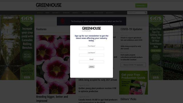 DeCloet Greenhouse Mfg. Ltd.