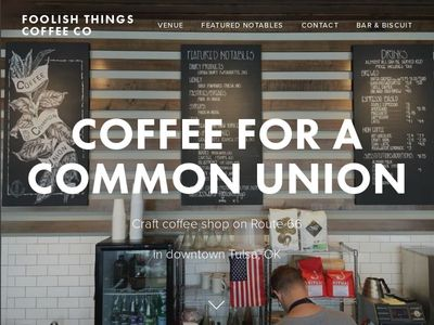 Foolish Things Coffee Co