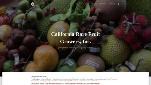 California Rare Fruit Growers, Inc.