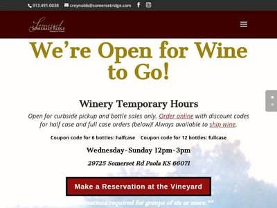 Somerset Ridge Vineyard and Winery