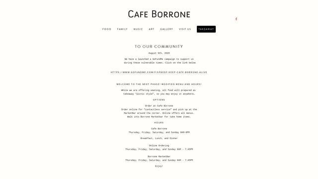 Cafe Borrone