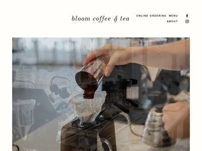 bloom coffee & tea