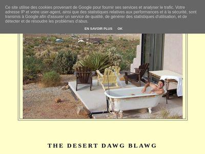 The Desert Dawg Blawg