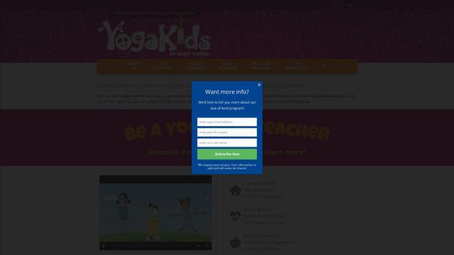 YogaKids International, Inc.