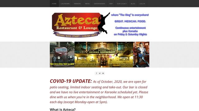 AZTECA Restaurant & Lounge