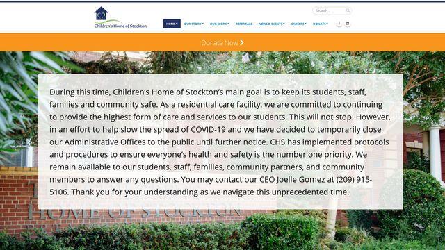 Children's Home of Stockton