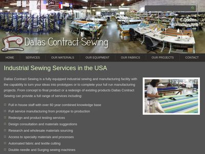 Dallas Contract Sewing