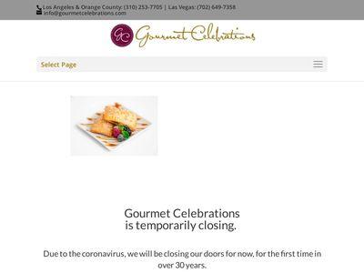 Gourmet Celebrations company