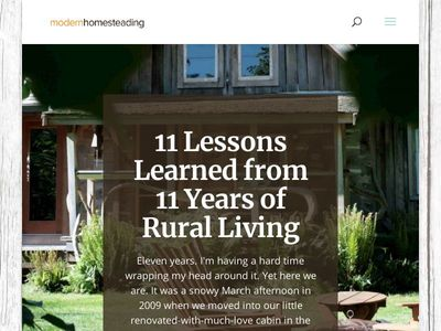 Modern Homesteading   Stylish Self-Sufficient Living   Homesteading   City to Country   City and Country Life   Homesteading Blog   Moving to the Country Blog   How to Homestead