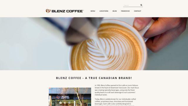 Blenz The Canadian Coffee Company Ltd.