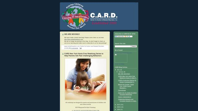 Center for Autism and Related Disorders, Inc.: