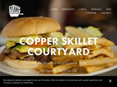 Copper Skillet Courtyard