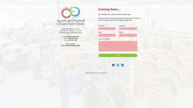 Oman Fiber Optic Co.