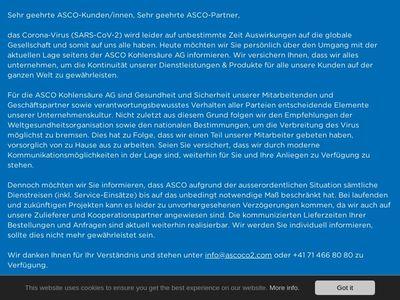 ASCO CARBON DIOXIDE LTD